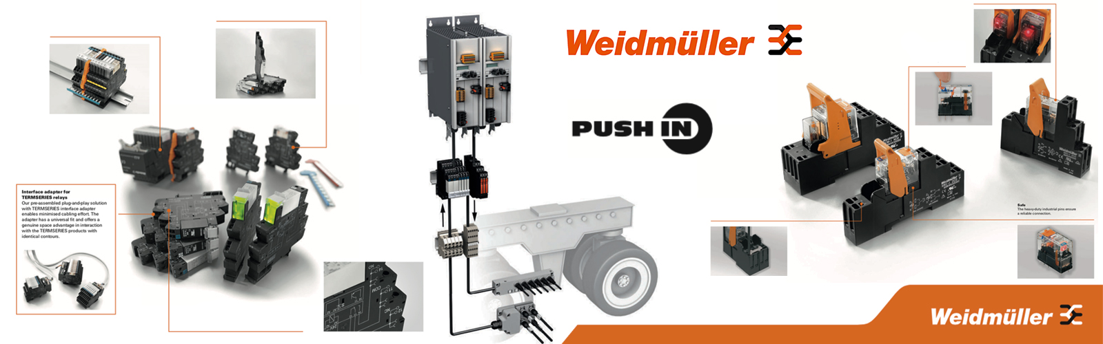 PLC RELAY - COUPLE RELAY WEIDMULLER