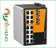 BỘ MANAGED SWITCH MẠNG 14 RJ45, 2 CỔNG QUANG ST(FIBER OPTIC) WEIDMULLER 1286840000 - IE-SW-PL16MT-14TX-2ST, INDUSTRIAL ETHERNET MANAGED SWITCH 14 RJ45/ 2 FIBER OPTIC 1286840000 - IE-SW-PL16MT-14TX-2ST