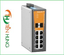 BỘ SWITCH MẠNG  6 CỔNG RJ45, 2 COMBO PORT WEIDMULLER 1241280000 - IE-SW-VL08-6GT-2GS, INDUSTRIAL ETHERNET SWITCH 6 PORTS RJ45 UNMANAGED 1241280000 - IE-SW-VL08-6GT-2GS