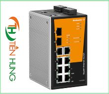 BỘ MANAGED SWITCH MẠNG 8 RJ45, 2 CỔNG 1000BaseSFP WEIDMULLER 1241300000 - IE-SW-PL10M-1GT-2GS-7TX, INDUSTRIAL ETHERNET MANAGED SWITCH 8 RJ45/ 2*1000BaseSFP 1241300000 - IE-SW-PL10M-1GT-2GS-7TX