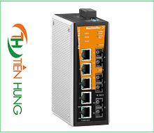 BỘ MANAGED SWITCH MẠNG  5 RJ45, 3 CỔNG QUANG WEIDMULLER 1345240000 - IE-SW-VL08MT-5TX-1SC-2SCS, INDUSTRIAL ETHERNET MANAGED SWITCH 5 RJ45/ 3 FIBER OPTIC 1345240000 - IE-SW-VL08MT-5TX-1SC-2SCS