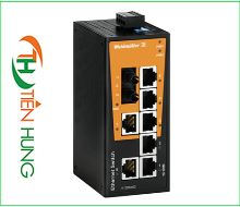 BỘ SWITCH MẠNG WEIDMULLER 7 CỔNG RJ45 LOẠI UNMANAGED 1412100000 - IE-SW-BL08T-7TX-1ST, INDUSTRIAL ETHERNET SWITCH 7 PORTS RJ45 UNMANAGED 1412100000 - IE-SW-BL08T-7TX-1ST, WEIDMULLER VIỆT NAM